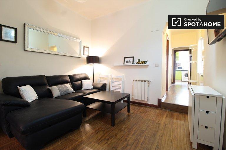 Sonnige 3-Zimmer-Wohnung zur Miete in Chamartín, Madrid