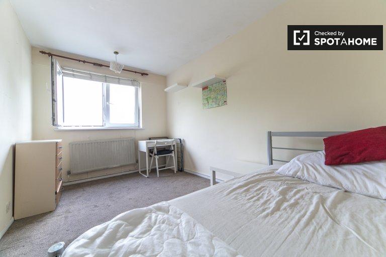 Quarto aconchegante em apartamentos de 4 quartos em Tower Hamlets, Londres