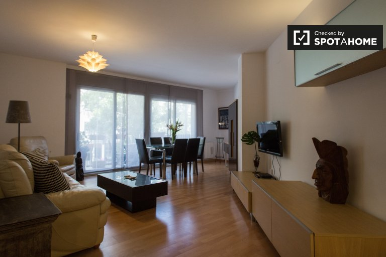 Great 3-bedroom apartment for rent in El Guinardó, Barcelona