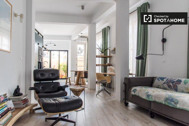 Quatre Carreres, Valensiya'da kiralık 2 odalı daire