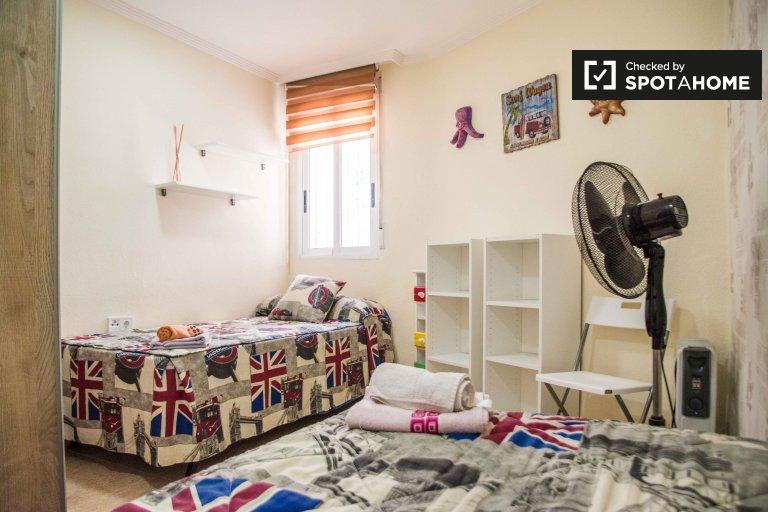 Chambre confortable à louer à Poblats Marítims, Valence