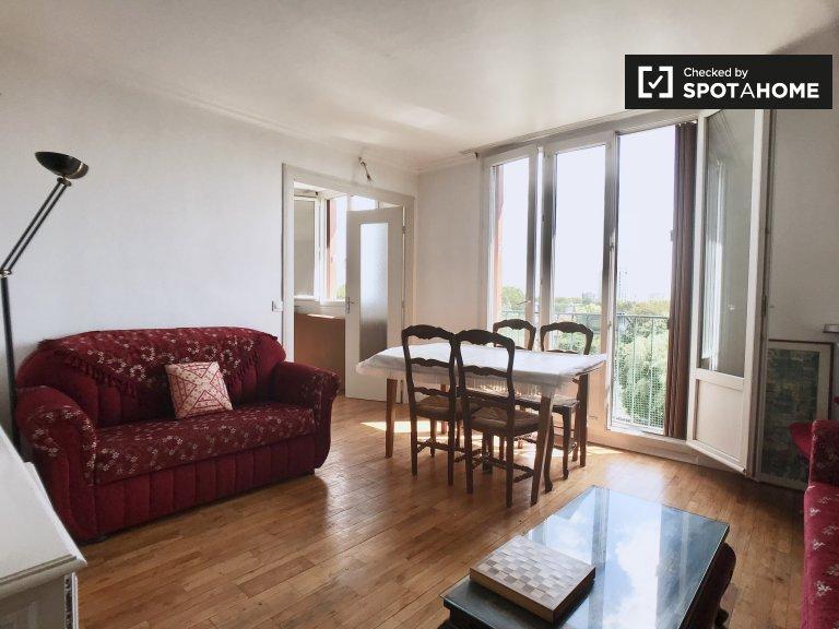 Quiet 3-bedroom apartment for rent in Villejuif, Paris