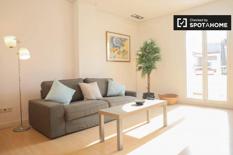 Apartamento de 1 quarto para alugar em Eixample, Valência