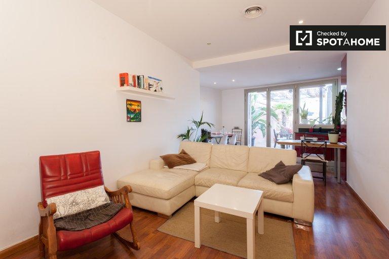 Erstaunliche 2-Zimmer-Wohnung zur Miete in El Raval, Barcelona