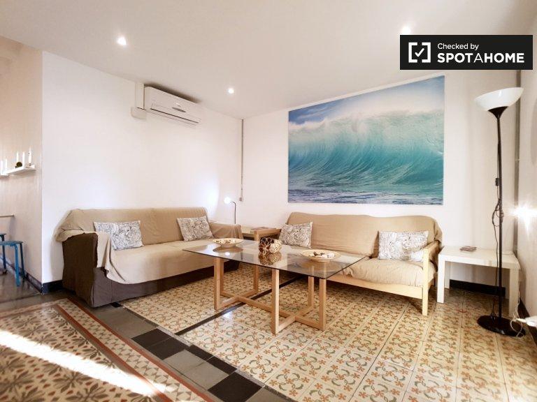 Apartamento de 3 quartos para alugar em Sants, Barcelona