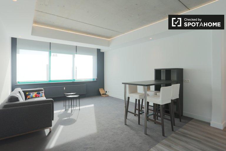 Apartamento de un dormitorio en alquiler en Anderlecht, Bruselas