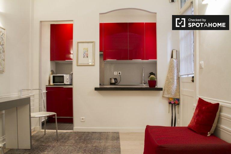 Apartamento de 1 dormitorio en alquiler en 15º Arrondissement, París