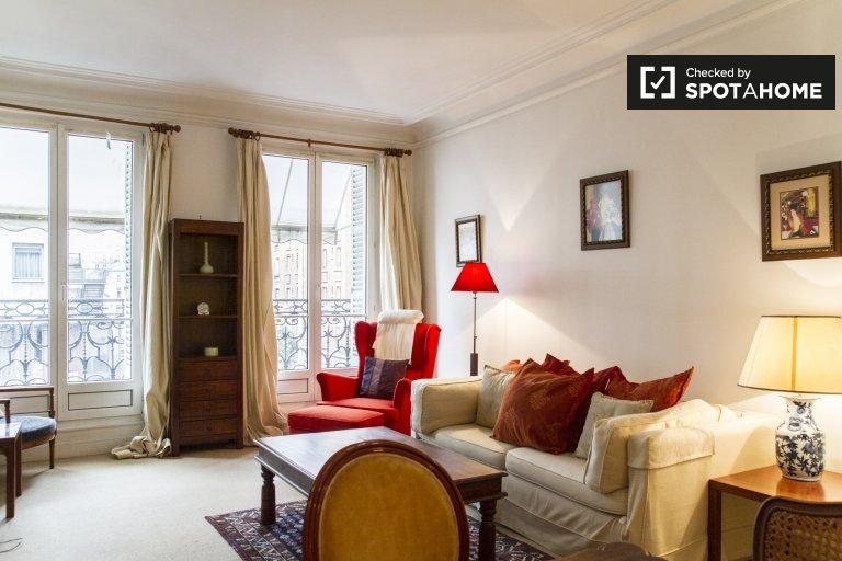 Ensolarado com 1 quarto para alugar no 5º arrondissement, Paris
