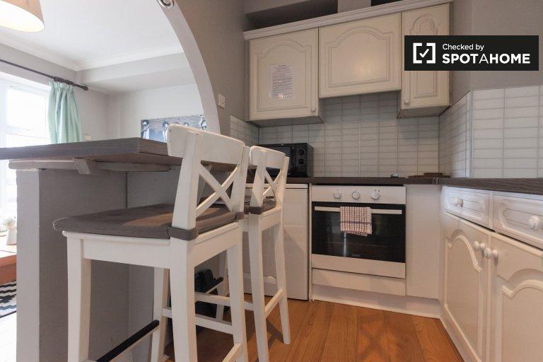 Apartamento de 2 quartos elegante para alugar em Ballsbridge, Dublin