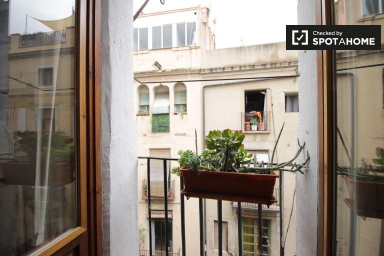 Beautiful 1-bedroom apartment for rent in Barri Gòtic