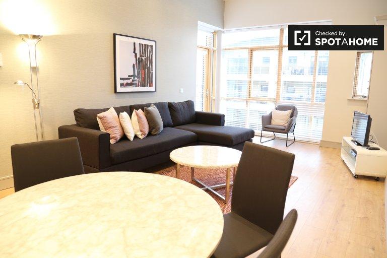 Flat moderno de 2 quartos para alugar em Leopardstown, Dublin
