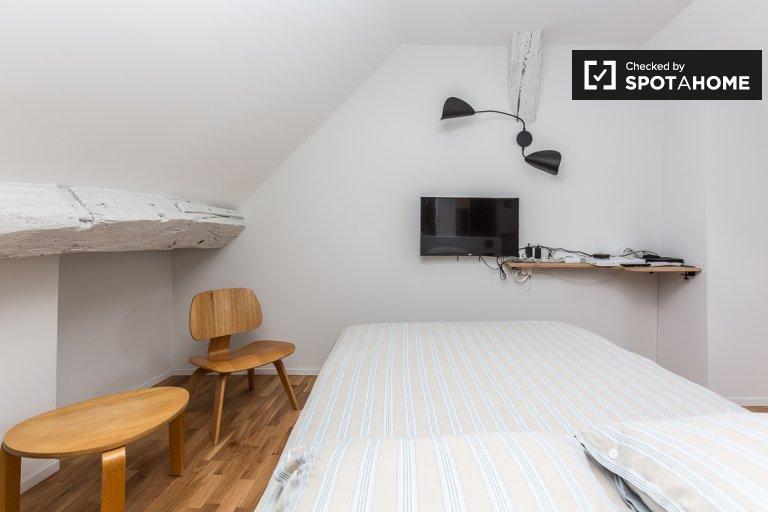 Charming studio apartment for rent in Chatelet , Paris