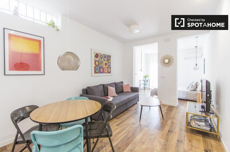 Studio apartment for rent in Lavapiés, Madrid
