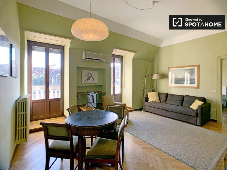 Apartamento de 1 dormitorio en alquiler en Milan Centro