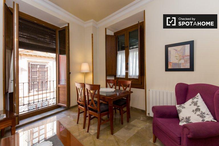 Charming 1-bedroom apartment for rent in Realejo, Granada