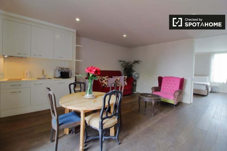 1-pokojowe mieszkanie do wynajęcia w Etterbeek, Bruksela