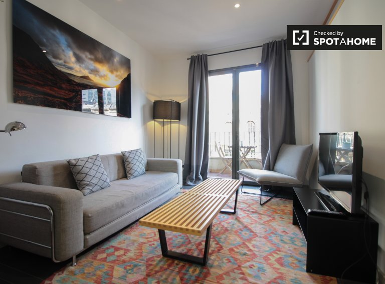 Apartamento de 2 quartos elegante para alugar em Sant Gervasi