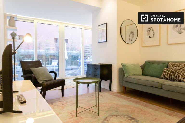 Appartamento con 3 camere da letto in affitto a Campo de Ourique, Lisbona