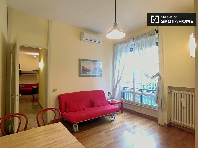 Apartamento equipado de 1 dormitorio en Washington en alquiler, Milán