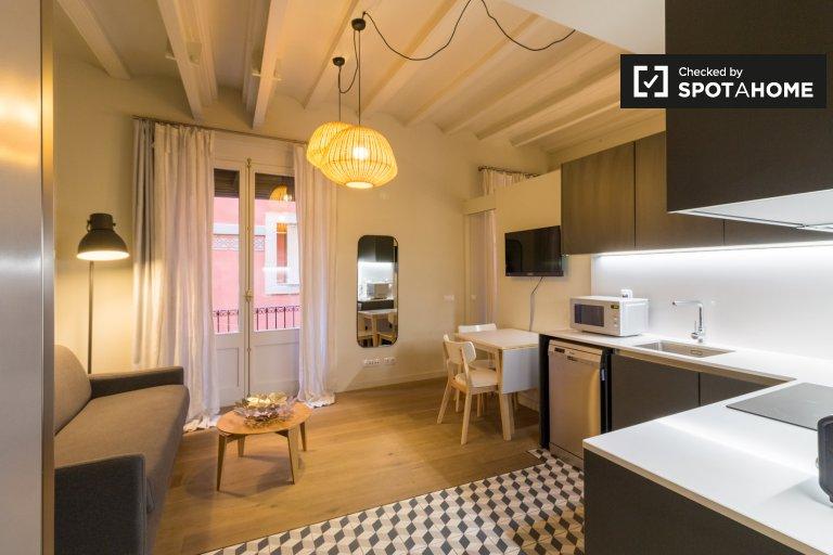 Appartement 1 chambre à louer à Barri Gòtic, Barcelone