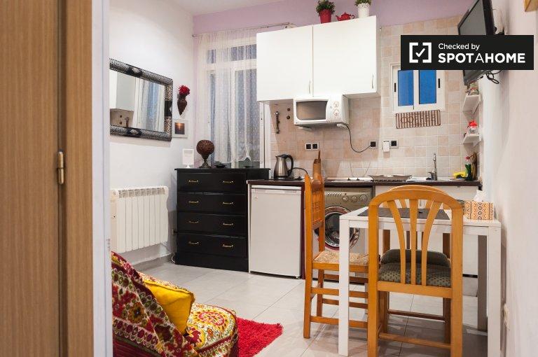 Bonito estudio en alquiler en Lavapiés, Madrid