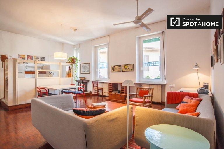 2-Zimmer-Wohnung zur Miete in Trastevere, Rom