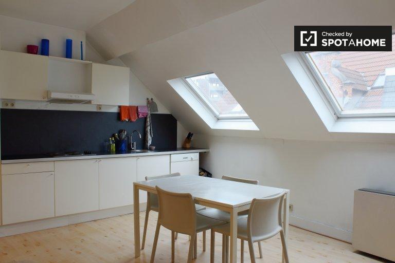 Acogedor apartamento de 1 dormitorio en alquiler en el centro, Bruselas