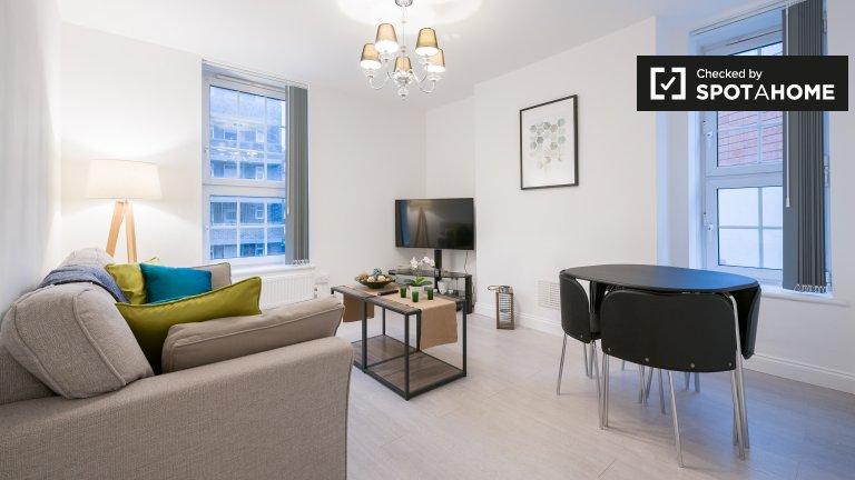 Elegancki apartament z 2 sypialniami do wynajęcia w Tower Hamlets w Londynie