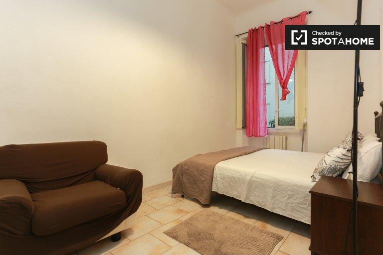 Quarto acolhedor em apartamento de 2 quartos em Città Studi, Milão