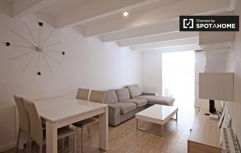 Nowoczesne 3-pokojowe mieszkanie do wynajęcia w Sant Gervasi