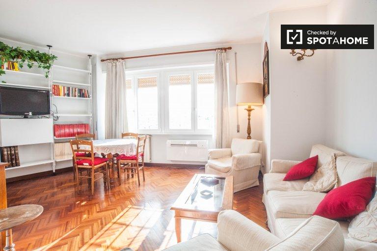 Appartement 1 chambre à louer à Trieste, Rome