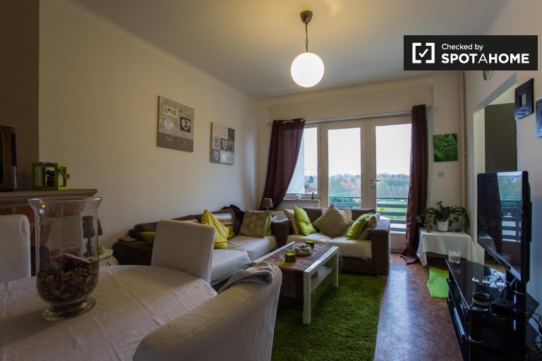 Charming 1-bedroom apartment with balcony for rent in Dilbeek