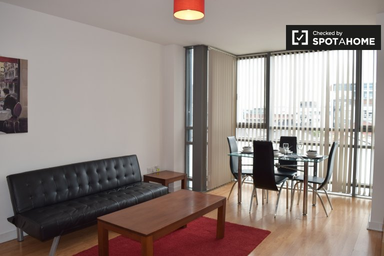 Modern 1-bedroom apartment to rent in Stoneybatter, Dublin
