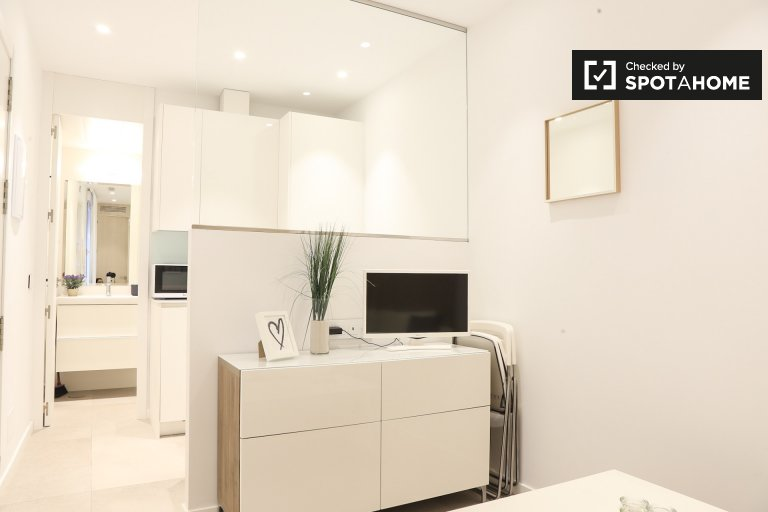 Modern 1-bedroom apartment for rent in Chueca, Madrid