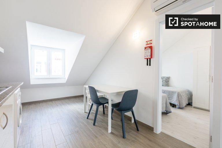 Appartamento ammobiliato con 2 camere da letto in affitto ad Alameda, Lisbona