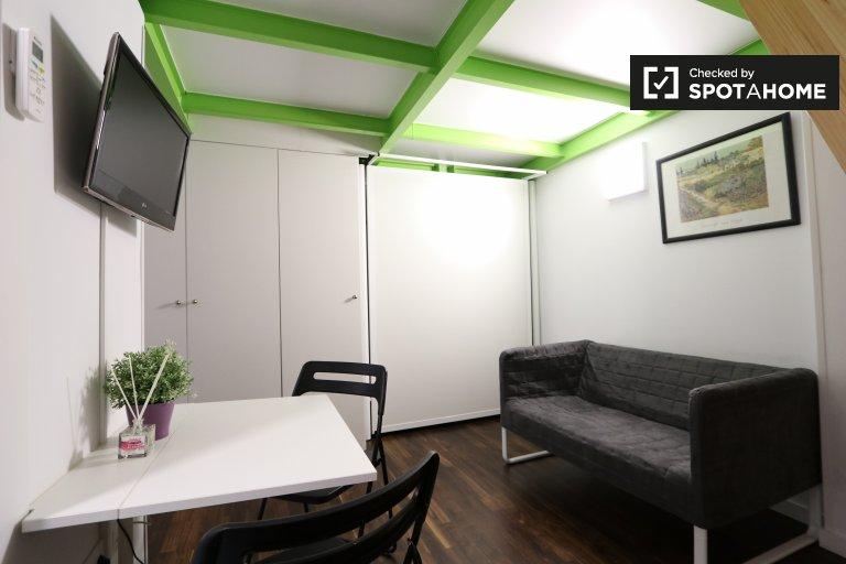 Gemütliches Studio-Apartment zur Miete in Lavapies, Madrid