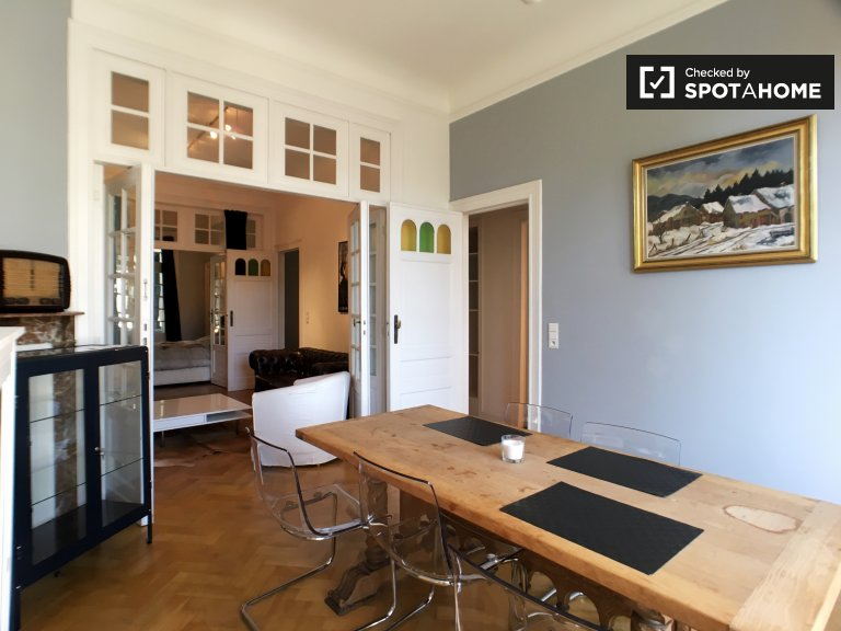 Beautiful 3-bedroom apartment for rent in Ixelles, Brussels