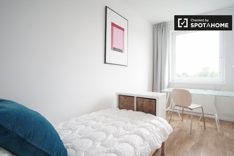 Amazing room in apartment in Treptow-Köpenick, Berlin