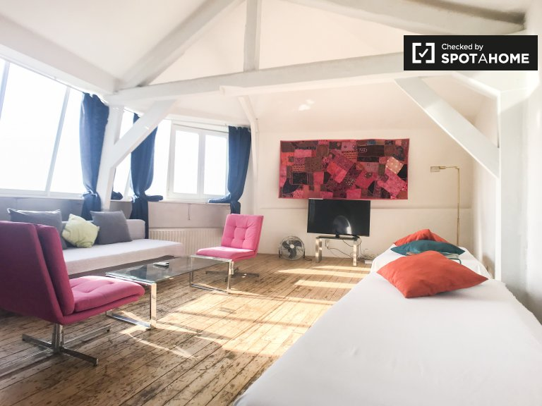 Fashionable 2-bedroom apartment for rent in Center, Brussels