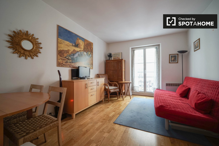 Perfect Studio Apartment For Rent In Paris 17th Arrondissement, Close To The Arc De  Triomphe