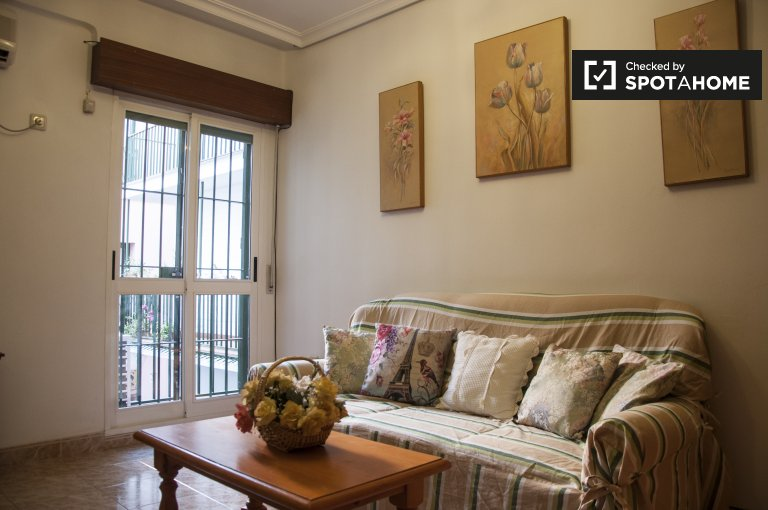 Furnished 2-bedroom apartment for rent in Centro