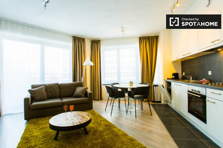Apartment with balcony for rent - Evere, Brussels