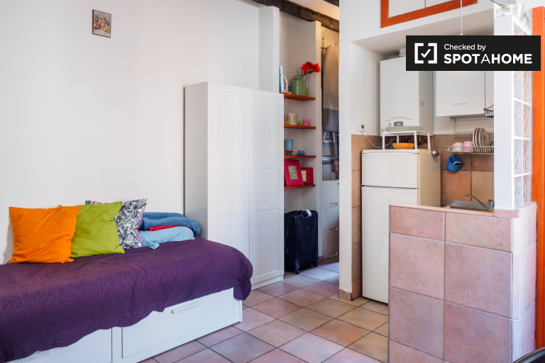 Stylish studio apartment for rent in Fiera Milano