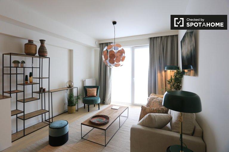 Studio apartment for rent in Schaerbeek, Brussels