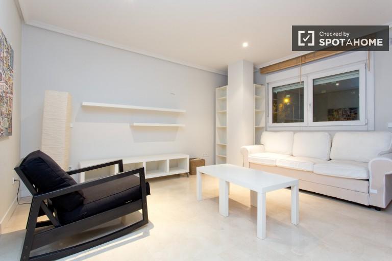 Stylish studio with air conditioning in Retiro, close to Salamanca