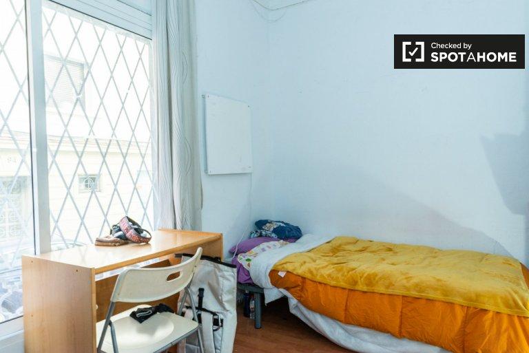 2 odalı bir daire, Gràcia'da kiralık aydınlık oda