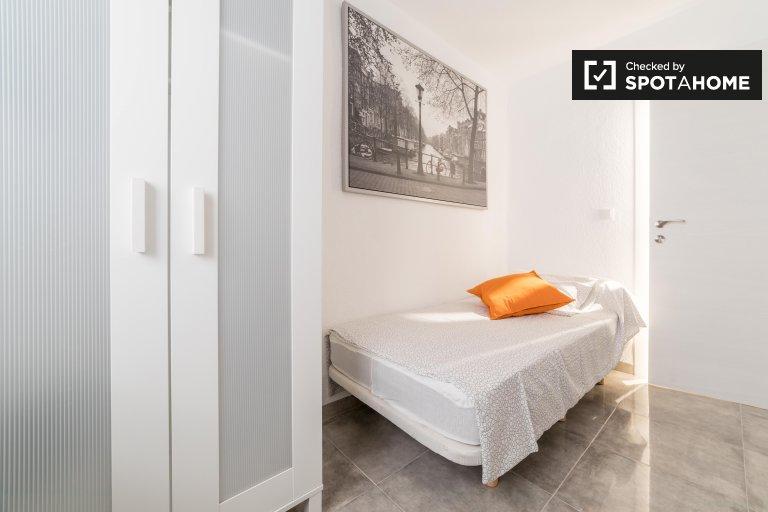 Stanza accogliente in affitto, appartamento con 4 camere da letto, Rascanya, Valencia