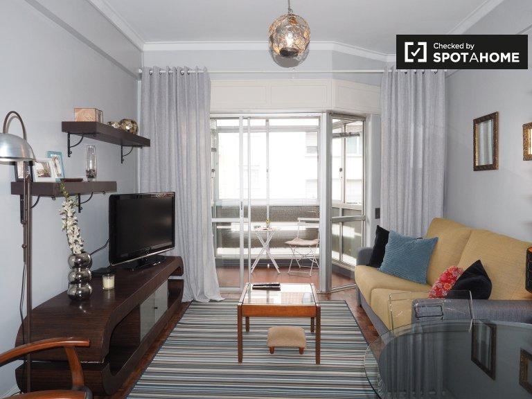 1 yatak odalı daire kiralık Avenidas Novas, Lizbon