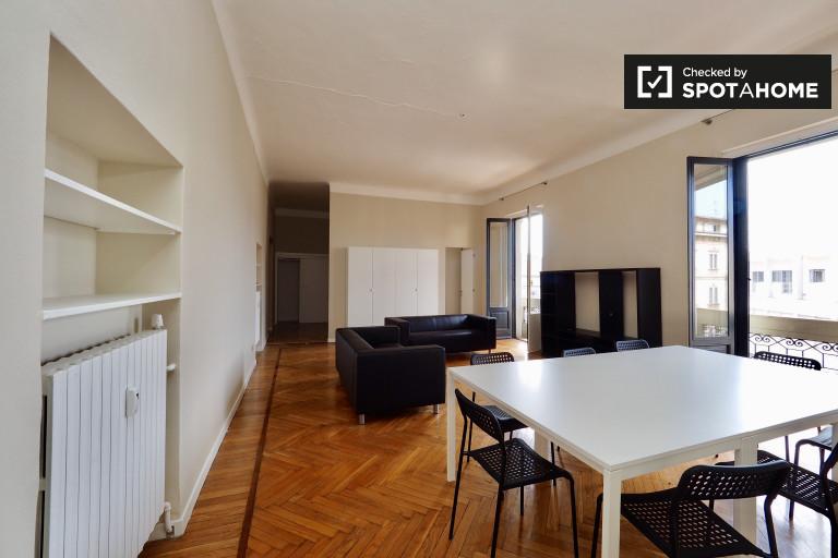Large 3-bedroom apartment ro rent in Garibaldi, Milan