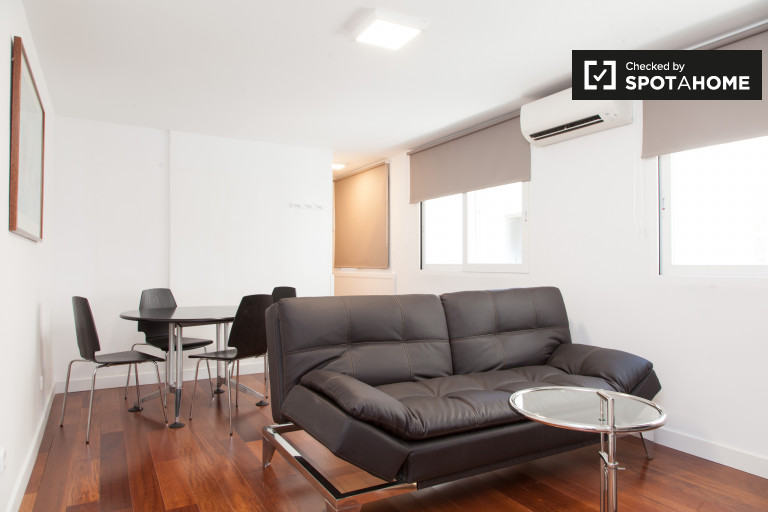 Modern 1-bedroom apartment for rent in Centro, Madrid
